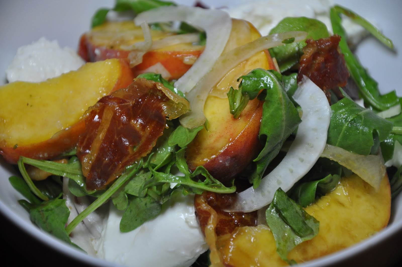 Slice of Rice: Tyler Florence's Peach, Mozzarella and ...