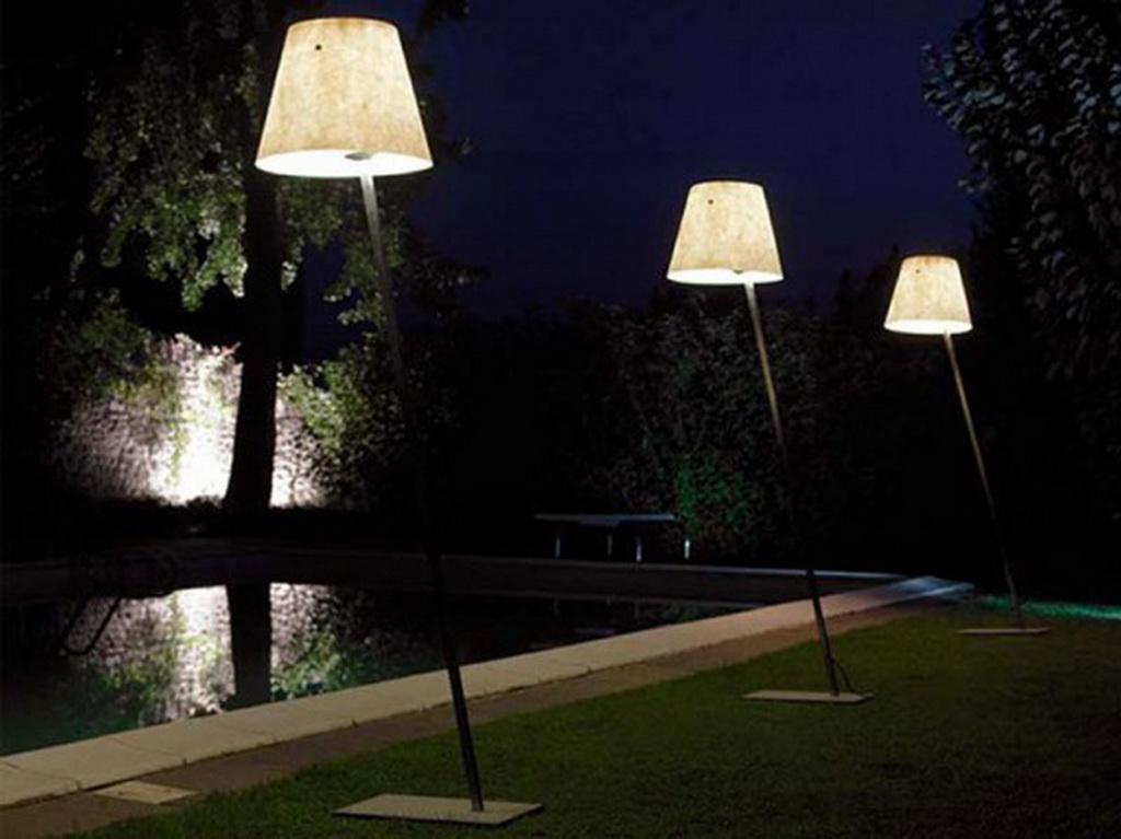 Unusual outdoor lighting