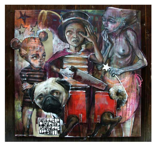 graffiti on canvas - the best graffiti artists - graffiti paint - melbourne graffiti art- murál