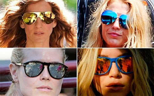 As lentes coloridas além de servir como um filtro da claridade da luz,  retendo parte dela e dando um toque charmoso aos óculos também possuem ... a171d7b245