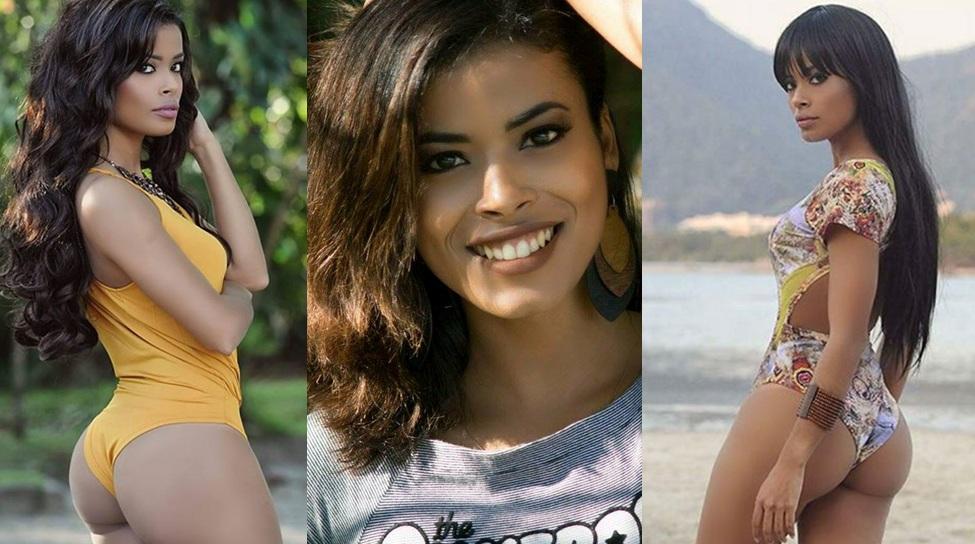 Modelo carioca exibe charme e sensualidade diante das câmeras e deixa fãs babando tamanha sua belez
