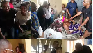 Alleged Major Player In The Gang War That Led To Ozubulu Catholic Church Attack, Aloysius aka Bishop, Visits Hospitalized Victims And This Happened