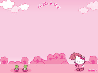Hello Kitty desktop wallpaper background 1024x768