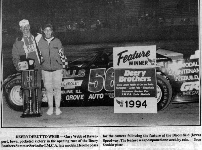 Midwest racing archives this week in history for Champion motors waterloo iowa