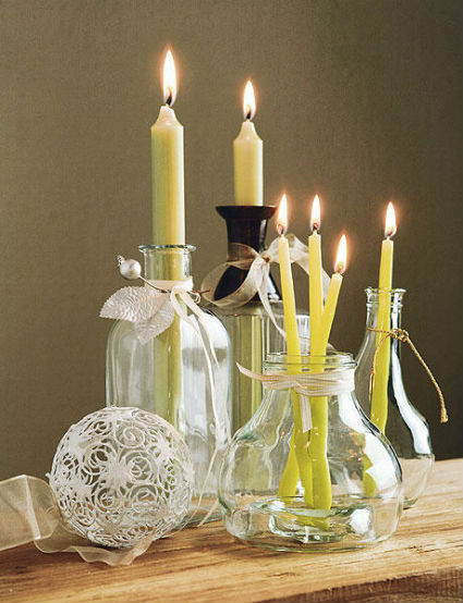 DIY Candle Stands