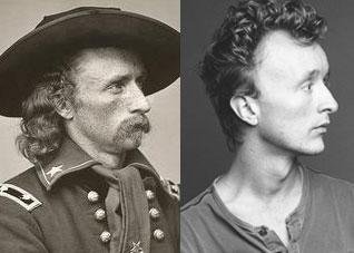 General Custer and Actor Paul Cram