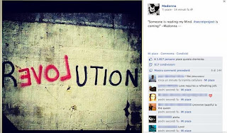 Madonna & Steven Klein revolution of love facebook