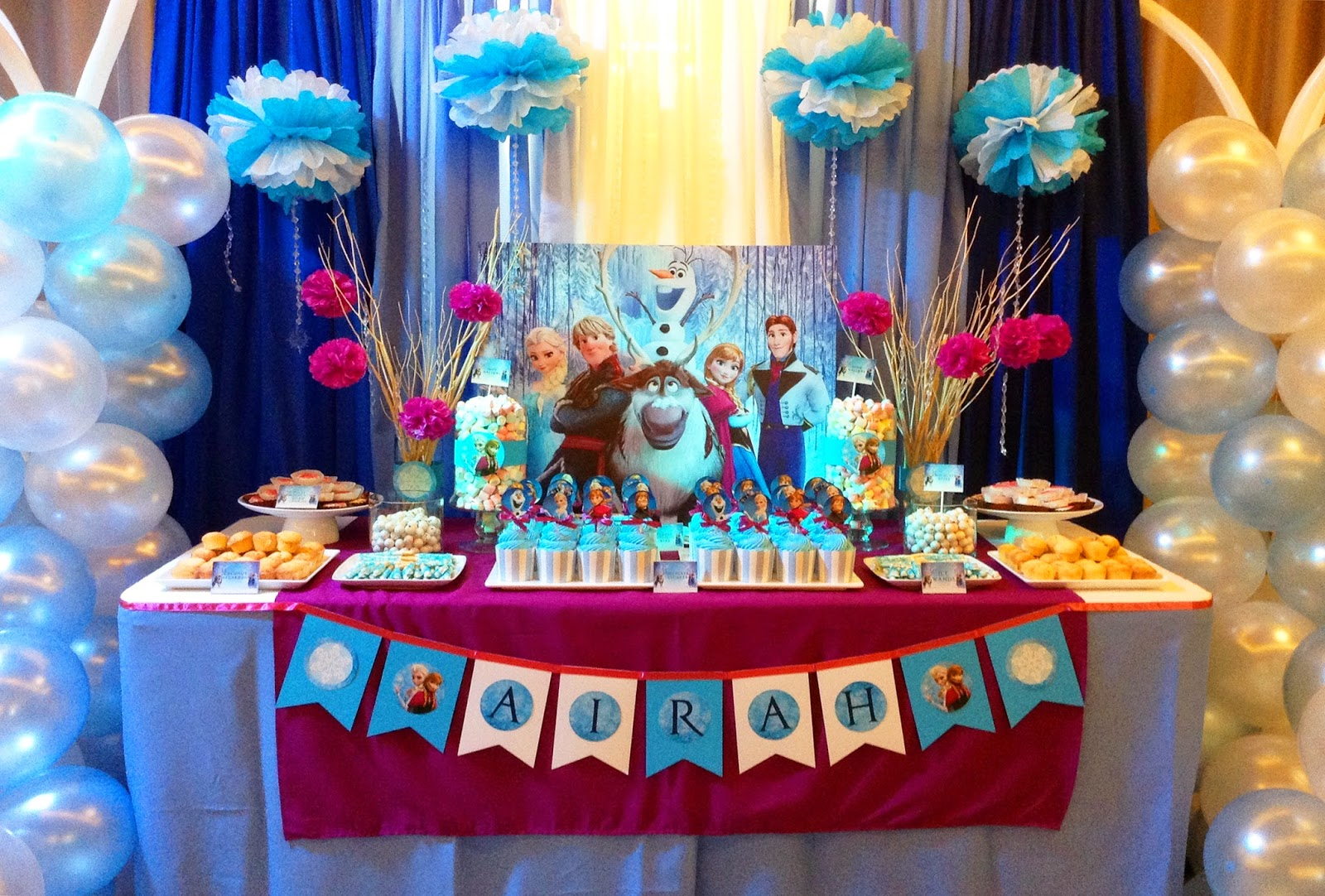Disney Frozen Themed Birthday Party