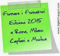 Edizione  2015 a Roma, Milano, Cagliari e Modica