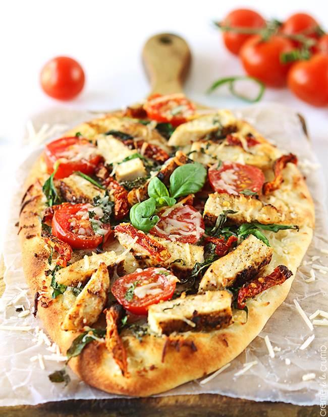 pizza florentina lipie pui