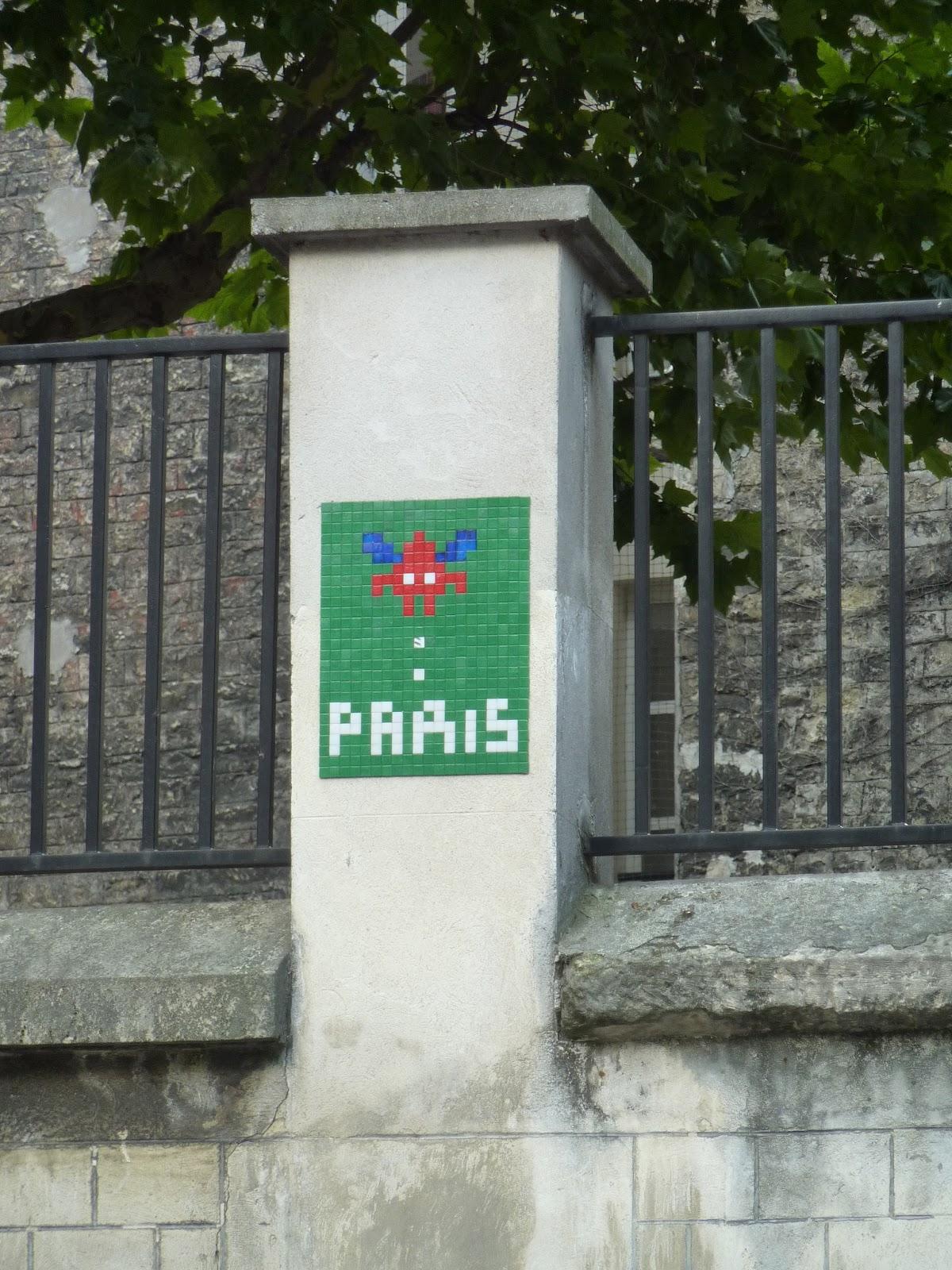 Deborah's Journal: Street Art in Paris