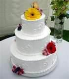 Flower Model Cake