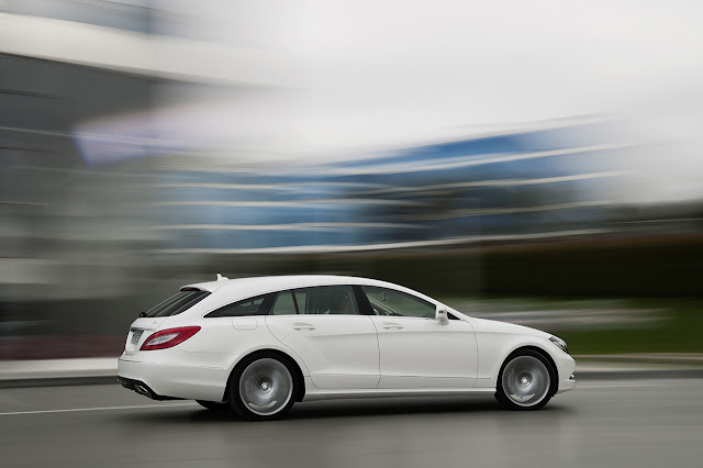 new Mercedes CLS Shooting Brake