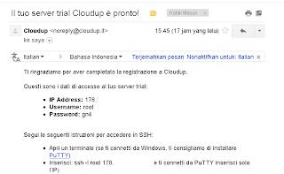 Cara Daftar Vps Trial di  Cloudup
