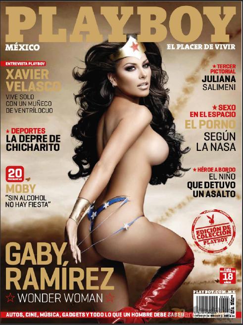 Revista: Playboy [México] - Gaby Ramírez [PDF | 32.66 MB]