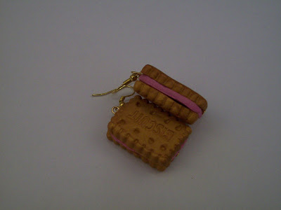 Χειροποίητα κοσμήματα: Χειροποιήτα σκουλαρίκια μπισκότα