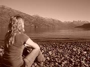Fotos artísticas en el Lago Puelo. Hermosa tarde en puelo, Otoño, .