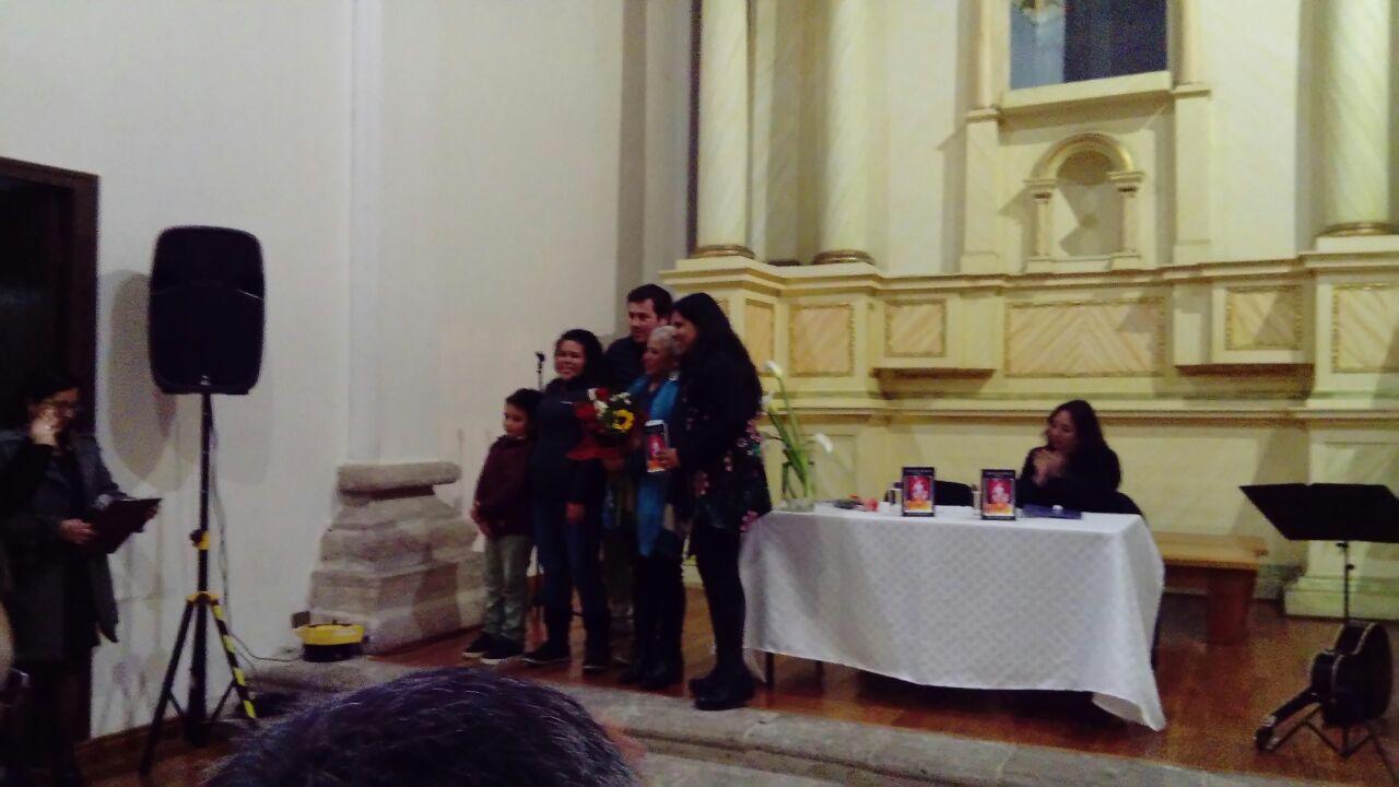 """Lanzamiento libro """"Lienzo de Verónica"""""""