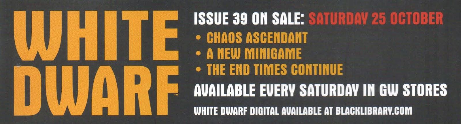 Adelanto de la White Dwarf Weekly 39