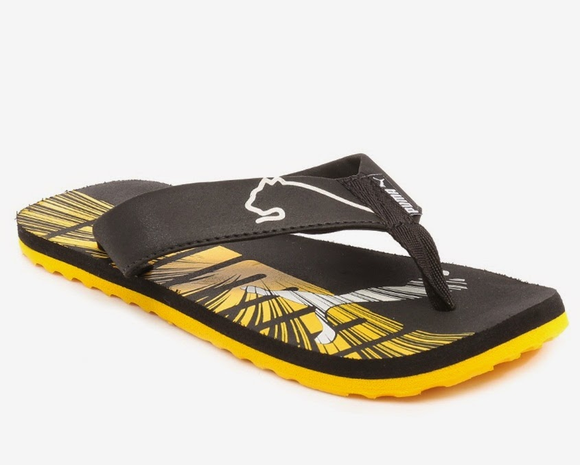 cheap and best puma flip flops online from snapdeal