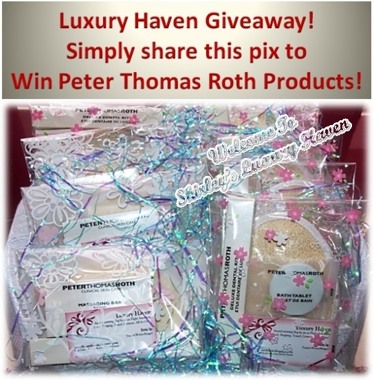 peter thomas roth giveaway