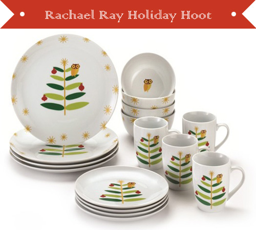 Rachael Ray 3 Hoot Dinnerware Sets  sc 1 st  My Owl Barn & My Owl Barn: Rachael Ray: 3 Hoot Dinnerware Sets