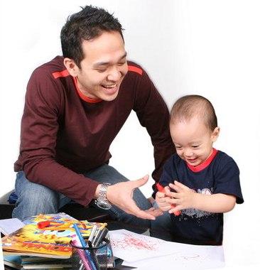 Kiat Ayah Mendidik Anak