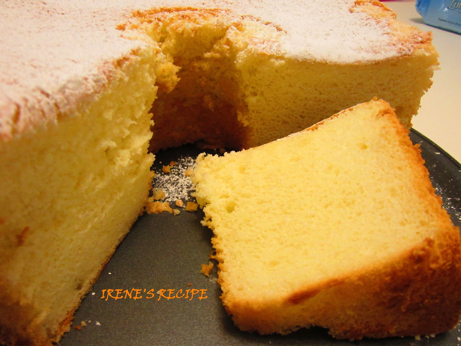 Irene's Recipe: Yummy Lemon Chiffon Cake (spongy and moist)