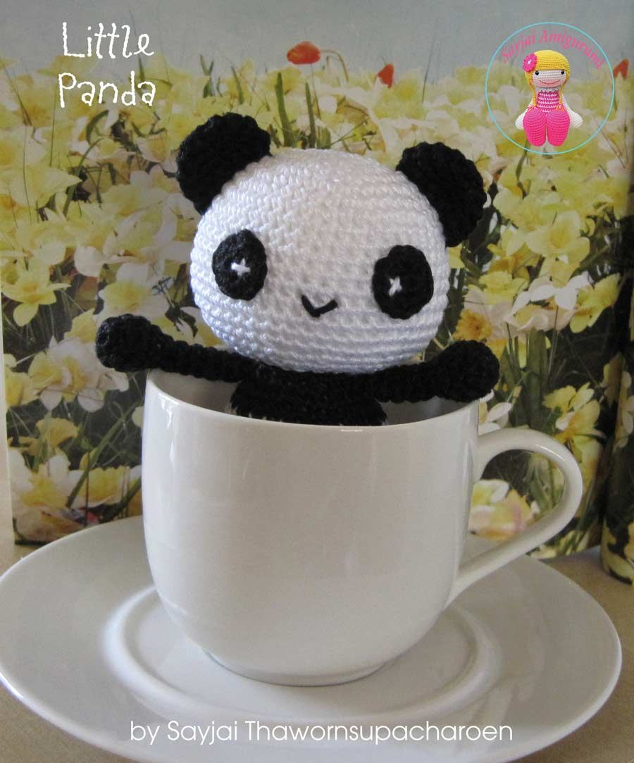Little Panda - Sayjai Amigurumi Crochet Patterns ~ K and J ...