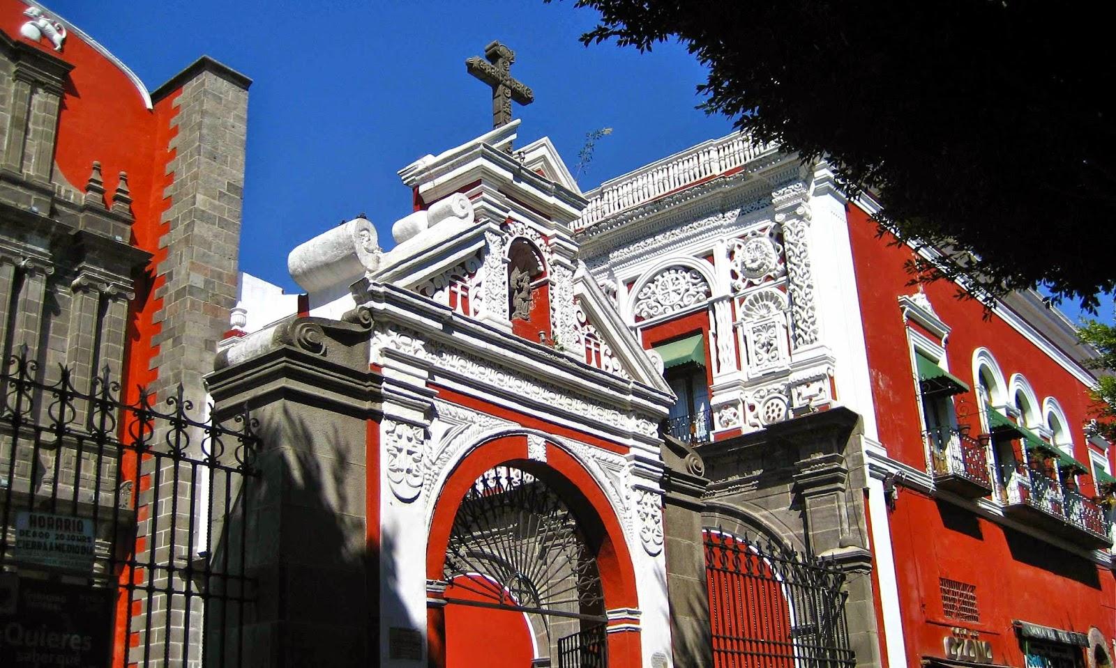 Capilla del Rosario del templo de Santo Domingo - Puebla