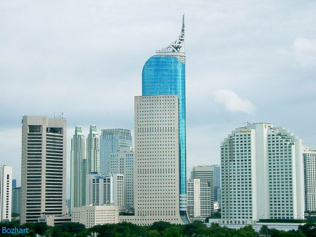 skyscraper buildings in Jakarta Wonderful Indonesia