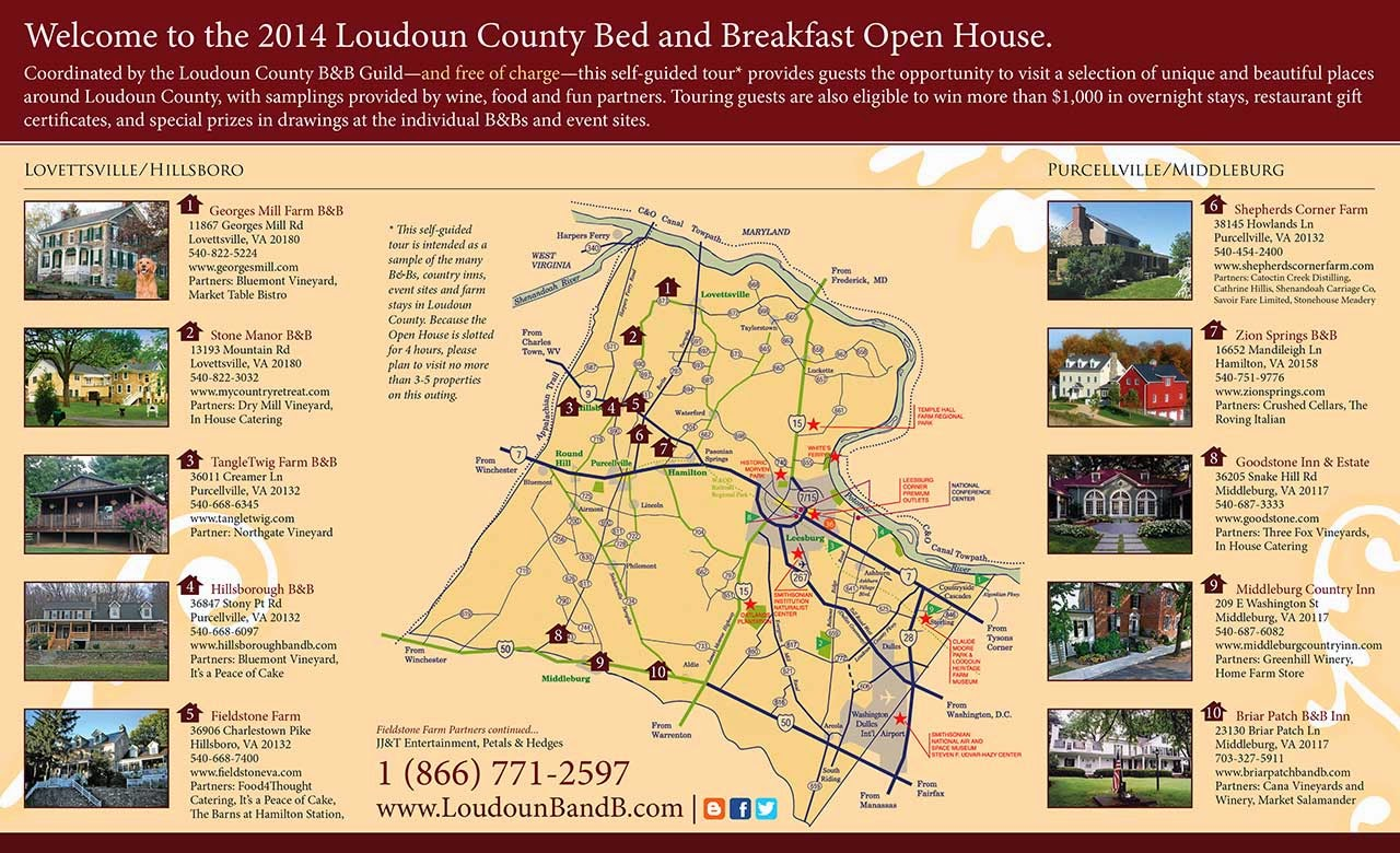 http://loudounbandb.com/6th-annual-loudoun-bed-breakfast-guild-open-house-and-self-guided-tour/