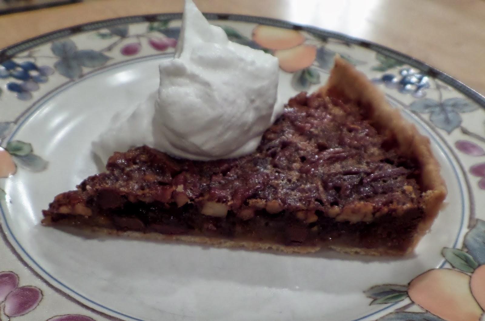 Shenandoah Gateway Farm: Chocolate Bourbon Pecan Tart