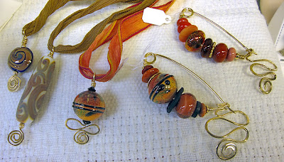 beads and wirework by Robin Atkins