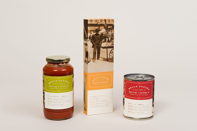 Bella cucina student project on packaging of the world for Bella j cucina