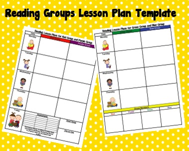 Kindertrips Lesson Plan Templates - Reading group lesson plan template