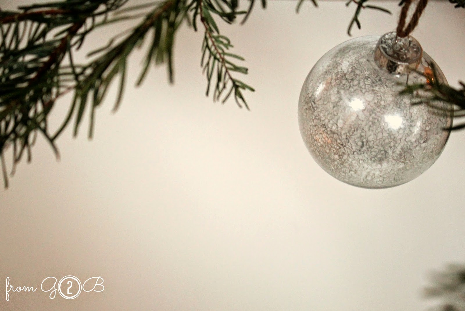 Diy mercury christmas ornaments - Directions