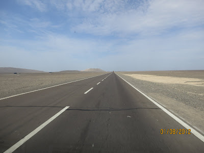 Toujours du désert…..