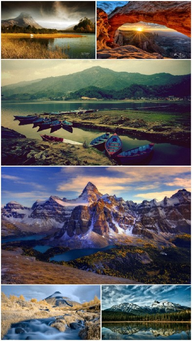 Landscapes Mountains Wallpapers Big Pack 6