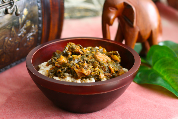 Sweet basil n spice liberian greens and rice liberian greens and rice forumfinder Image collections