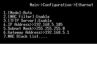 Cấu hình chi tiết giao diện Ethernet