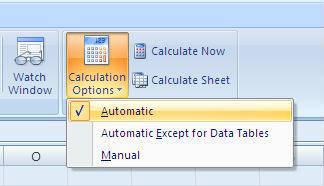 Cara Membuat Perhitungan Otomatis di Excel 2007