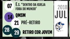 || PROGRAMAÇÃO JULHO