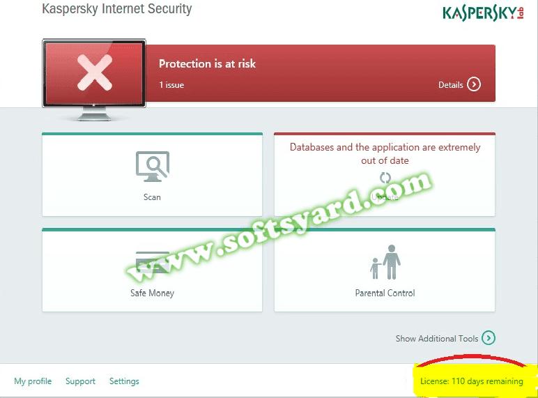 Kaspersky6 Activation Code download free