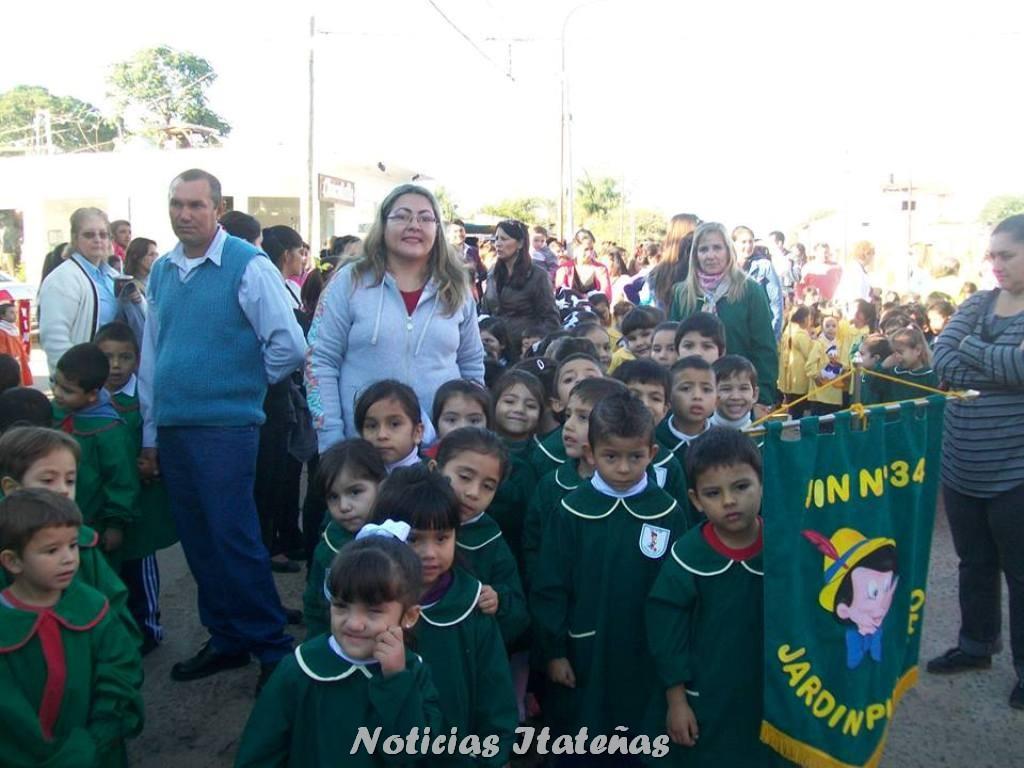 Noticias itate as se celebr el d a de los jardines de for Jardin de infantes 2015