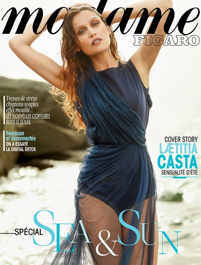 Laetitia-Casta-By-Nico-For-Madame-Figaro-Cover
