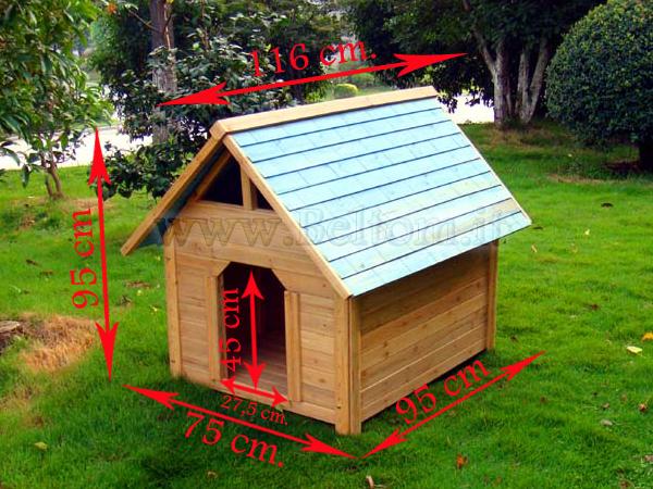 Cucce per cani di qualit cuccia in legno per cane cani for Cuccia cane taglia grande