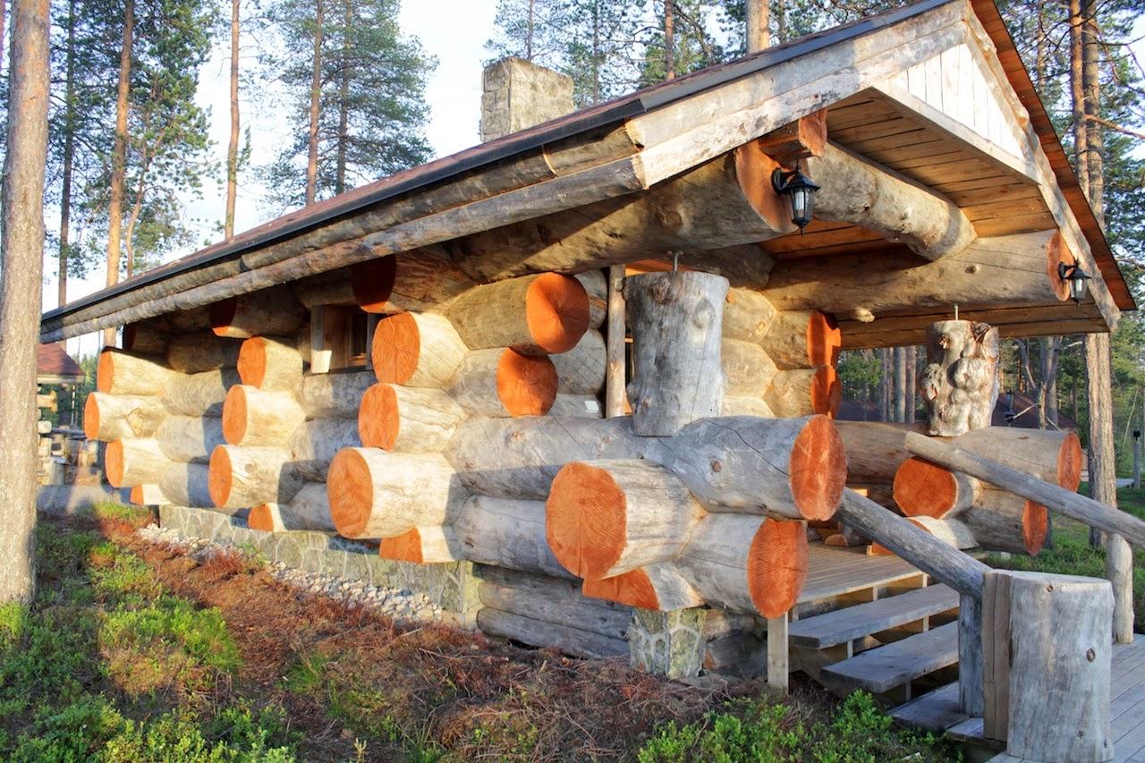 Helsinki design kelo blockh user for Blockhaus innen modern