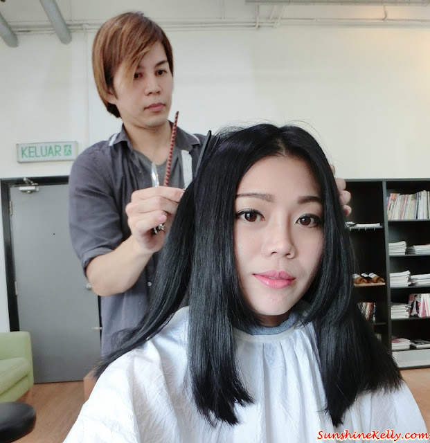 Hair Makeover, Pitchoune Hair design Salon, Solaris Mont Kiara, Yamagoya Ramen, Hairstyle, New Hairstyle 2016, Japanese Hair stylist, hiro san