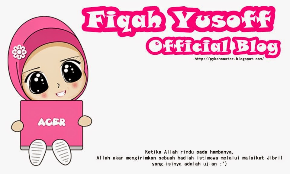 Fiqah Yusoff Official Bl0g